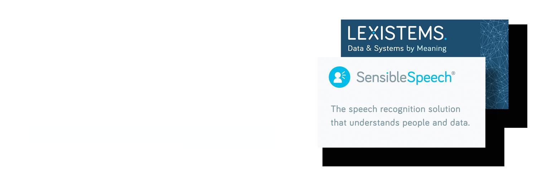 LEXISTEMS SensibleSpeech splash image.