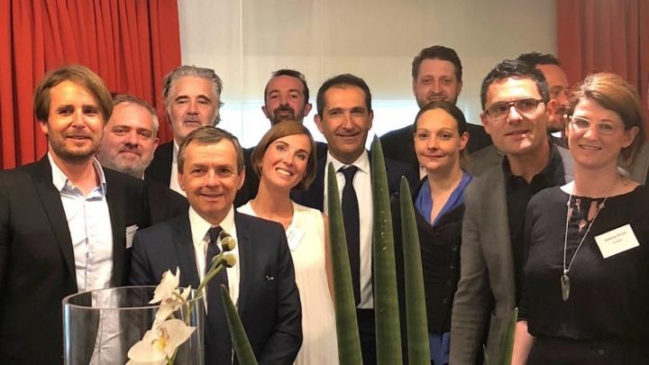 LEXISTEMS CEO Marie Granier Meets Altice CEO Patrick Drahi and SFR Group CEO Alain Weill.